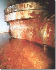 5号機原子炉建屋5階で見つかった水たまり