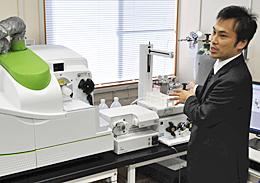 ストロンチウム分析の新手法を説明